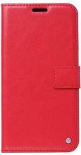 Oppo A52 Kılıf Standlı Kartlıklı Cüzdanlı Kapaklı - Kırmızı