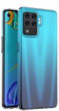 Oppo Reno 5 Lite Kılıf Ultra İnce Esnek Süper Silikon 0.3mm - Şeffaf