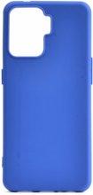 Oppo Reno 5 Lite Kılıf Zore Biye Mat Esnek Silikon - Mavi
