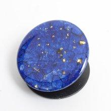 Pop Socket Telefon Tutucu Granit Desenli - Mavi