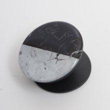 Pop Socket Telefon Tutucu Mermer Desenli - Gri Siyah