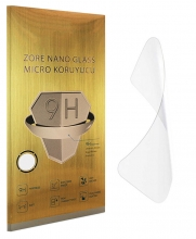 Realme C11 Ekran Koruyucu Gold Nano Esnek Film Kırılmaz - Şeffaf