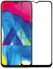 Samsung Galaxy A31 5D Tam Kapatan Kenarları Kırılmaya Dayanıklı Cam Ekran Koruyucu - Siyah
