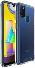 Samsung Galaxy M30s Kılıf Clear Guard Serisi Gard Kapak - Şeffaf