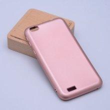 Vestel Venus E2 Plus Kılıf İnce Mat Esnek Silikon - Rose Gold