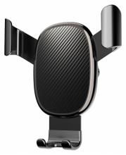 Voero X11 Karbon Araç Telefon Tutucu - Siyah