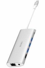 Wiwu Alpha 11 in 1 Type-C Hub - Gümüş