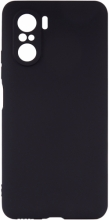 Xiaomi Poco F3 Kılıf İnce Mat Esnek Silikon - Siyah