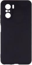 Xiaomi Redmi K40 Kılıf İnce Mat Esnek Silikon - Siyah