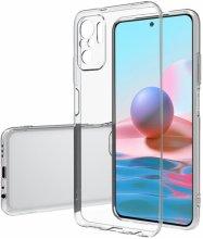 Xiaomi Redmi Note 10s Kılıf Ultra İnce Esnek Süper Silikon 0.3mm - Şeffaf