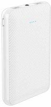 Xipin M3 5000 mAh Hızlı Şarj Powerbank LED Göstergeli - Beyaz