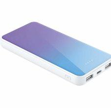 Xipin M8 10000 mAh Hızlı Şarj Powerbank LED Göstergeli - Mavi