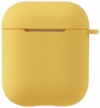 Zore Apple Airpods Kılıf Airbag 11 Soft Silikon - Sarı