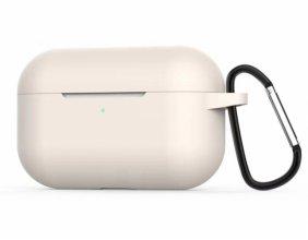 Zore Apple Airpods Pro Kılıf Airbag 11 Soft Silikon - Beyaz