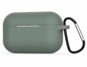 Zore Apple Airpods Pro Kılıf Airbag 11 Soft Silikon - Yeşil
