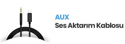 Aux(Ses) Kabloları