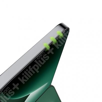 Benks Apple iPhone 12 Mini (5.4) Ekran Koruyucu 0.3mm V Pro Dust Proof Green Light - Siyah