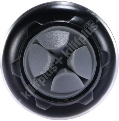 Benks Kalorifer Peteği Girişli Mıknatıslı Araç Telefon Tutucu - Siyah