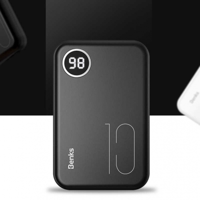 Benks PB10 Huge Capacity Powerbank - Beyaz