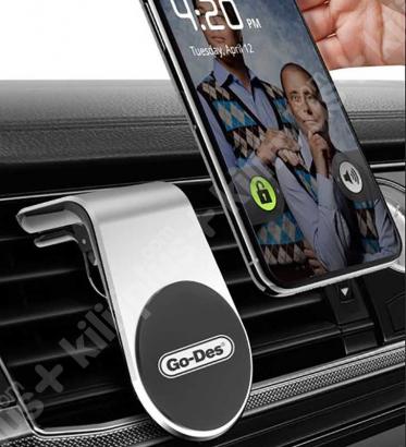 Go Des GD-HD633 Mıknatıslı Araç Telefon Tutucu - Siyah
