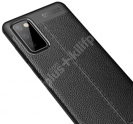 Samsung Galaxy S20 FE Kılıf Rugan Serisi Silikon Deri Görünümlü Parmak İzi Bırakmaz - Kırmızı