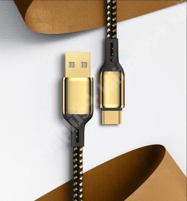 Wiwu Golden Serisi Type-C Şarj Data Kablosu 2M - Gold