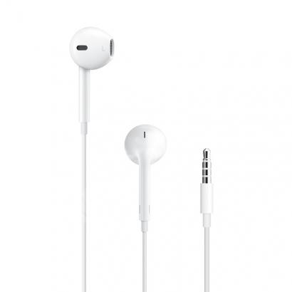 Mikrofonlu Kumandalı Kulakiçi Beyaz Kulaklık