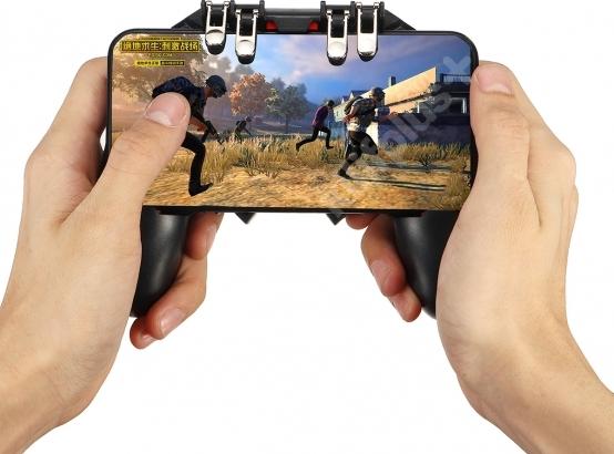 Mobil Game Oyun Kontrol Aparatı AK-66 - Siyah