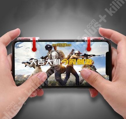 Pubg Benzeri Mobil Oyunlar İçin Tüm Telefonlara Uyumlu Tetik Aparatı