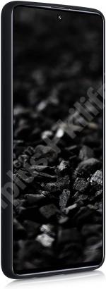Samsung Galaxy M31s Kılıf İnce Mat Esnek Silikon - Siyah