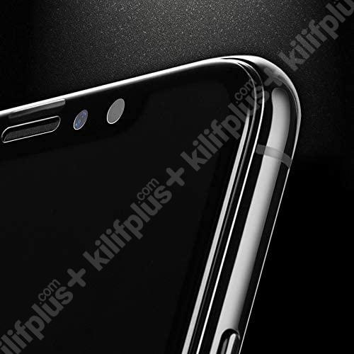 Samsung Galaxy S20 FE 5D Tam Kapatan Kenarları Kırılmaya Dayanıklı Cam Ekran Koruyucu - Siyah