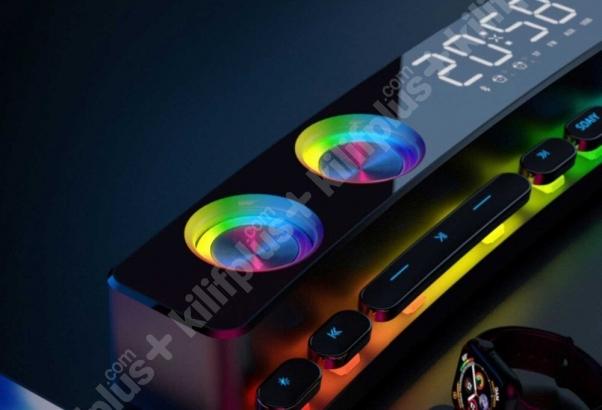 Soaiy SH39 Oyuncu Bluetooth RGB Hoparlör Gaming Speaker