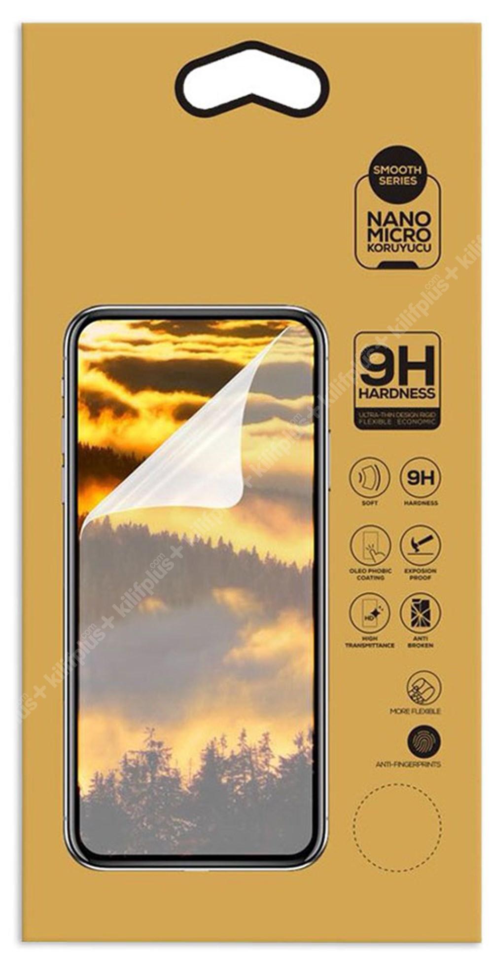 Vivo Y20 Ekran Koruyucu Gold Nano Esnek Film Kırılmaz - Şeffaf
