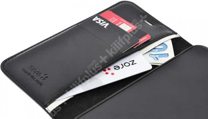 Vivo Y20 Kılıf Standlı Kartlıklı Cüzdanlı Kapaklı - Gold