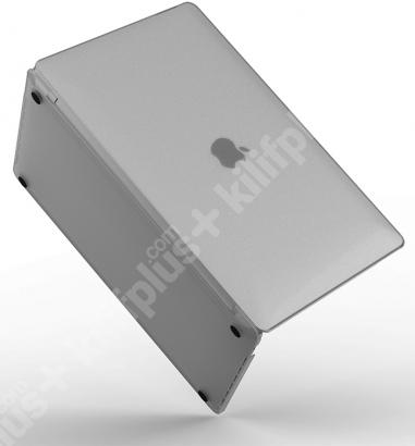 Wiwu Apple MacBook 13.3 inç Air Kılıf Macbook iShield Serisi Koruyucu Kapak - Beyaz