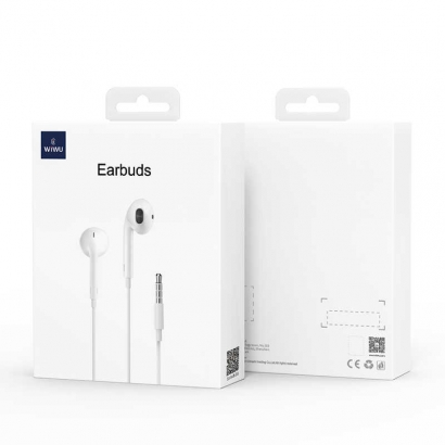 Wiwu Earbuds 101 3.5mm Kulaklık - Beyaz