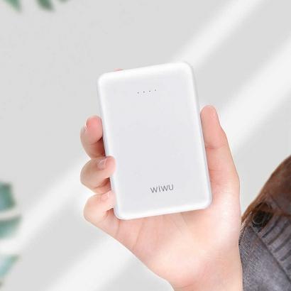 Wiwu JC-01 10000 Mah Powerbank - Beyaz