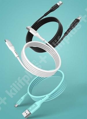 Wiwu Vivid Serisi Micro-USB 1.2m Hızlı Şarj Data Kablosu G-40 - Mavi