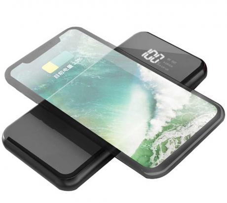 Wiwu W1 PD 8000 Mah Wireless Powerbank - Siyah