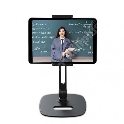 Wiwu ZM302 Tablet Telefon Tutucu Stand Sabitleyici Max. 13 inç - Gümüş