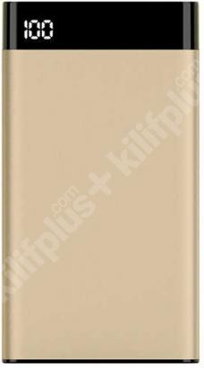 Xipin T13 10000 mAh Hızlı Şarj Powerbank Dijital Göstergeli - Mavi