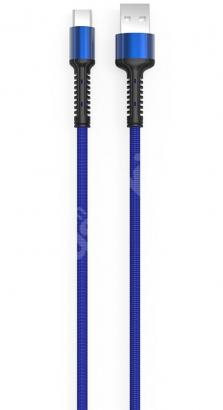 Zore LS65 Type-C USB Hızlı Şarj Data Kablosu 3m - Mavi