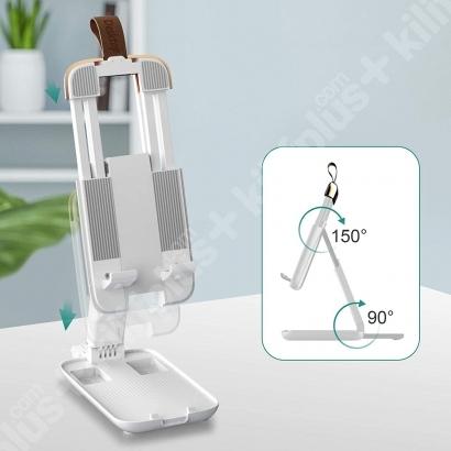 Zore Telefon Tablet iPad Tutucu Standı - Beyaz